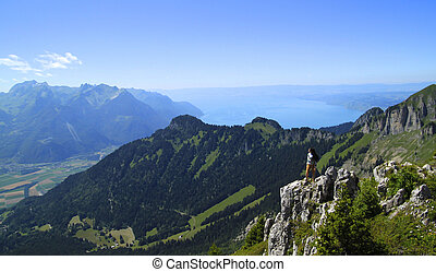 Being One - La Berneuse (above Leysin in CH (6,709 ft)) This...
