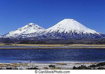 andes Mountains - Pichu-Pichu volcano in Peru