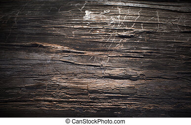 Wooden a wall background