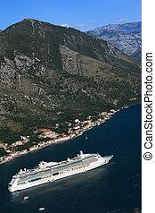Cruise ship Serenade of the Seas, Montenegro. September 23,...