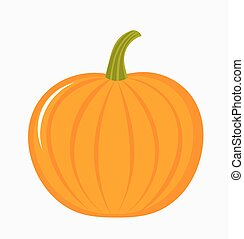 Pumpkin illustration - Pumpkin fruit icon Vector...