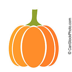 Pumpkin icon Vector illustration
