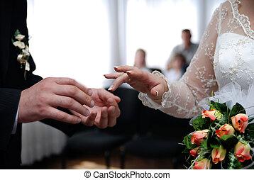 dag, bröllop