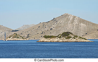 Sailing to Kornati archipelago - The Kornati archipelago is...