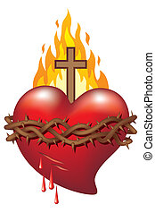 Heart of Jesus - Symbol of Sacred Heart of Jesus