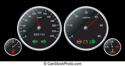 Speedmeter set