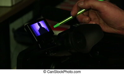 Camcorder, camera monitor