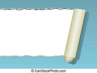 Damaged wallpaper, vector
