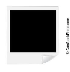 Blank photos. Vector