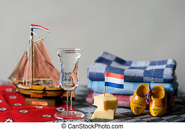 Typical Dutch products