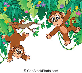 Image with jungle theme 6