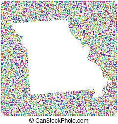 Map of Missouri (USA)