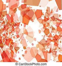 Abstract background template - Vector illustration