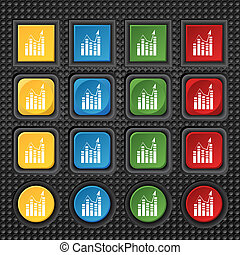 Text file icon Add document with chart sign Accounting...