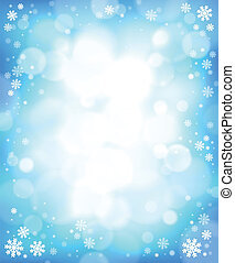 Winter theme background 4 - eps10 vector illustration
