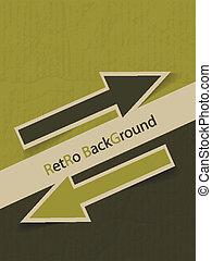 Vintage Design Template - vector illustration
