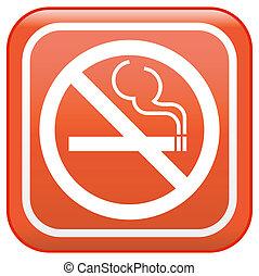 """Vector sign """"No smoking"""""""