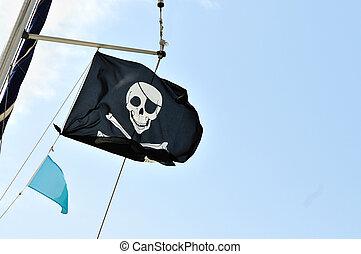 pirate, drapeau