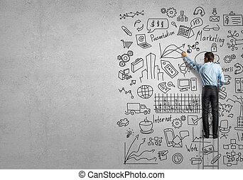 presentación, empresa / negocio