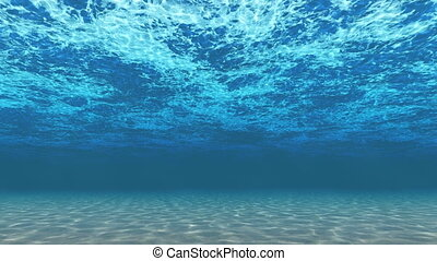 Underwater background - Computer generated underwater...