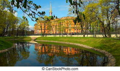 The Mikhailovsky castle in St Petersburg
