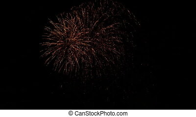 colorful fireworks show - fireworks show at new year's eve
