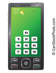 New generation of touch phone