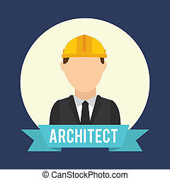 architect design - architect graphic design , vector...