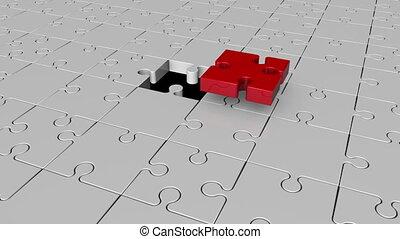 Missing puzzle piece concept 1
