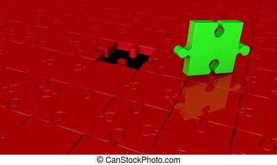Missing puzzle piece concept 2 - Missing puzzle piece...