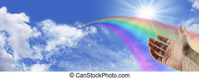 Desaparecer, arco íris