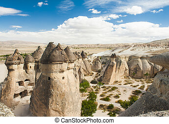 Fairy tale chimneys - Fairy tale chimney rocks in Pasabg...