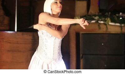 actress girl in white - beautiful actress girl in white...