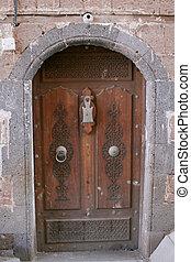 Door in Old Town, Sanaa, Yemen