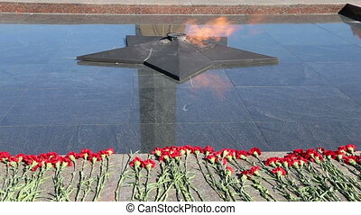 Eternal Flame at Victory Park