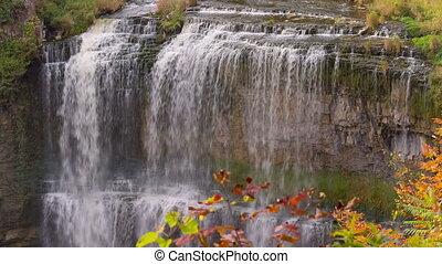 Webster's falls in Hamilton. Ontario, Canada