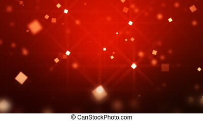 Moving Particles Loop HD - Background with shimmering blured...
