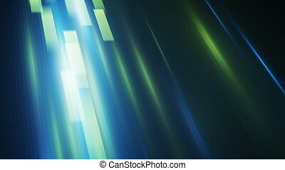 green blue rectangles moving fast loopable background -...