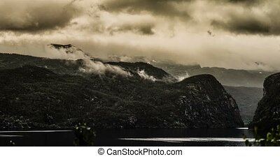 Epic time lapse of Eidfjord - 4K, Epic and dramatic time...