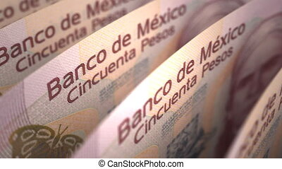 Mexican Pesos seamless