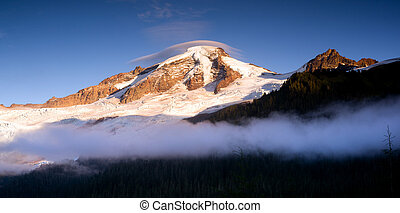 North Cascades Mt Baker Heliotrope Ridge Glacier Peaks - The...