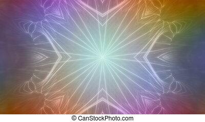 Multicolor VJ Abstract 3X7 Loop
