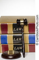 Legal law concept gavel law books - Legal law concept gavel...