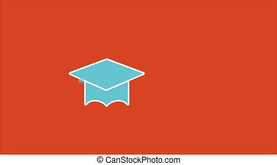 Education icons - Education insurance, Animation Design, HD...