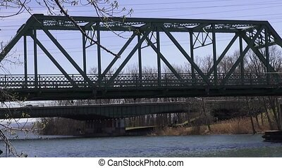 Truss Bridges, Spans, Structures