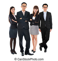 Asian Multi Ethnic Business People - Portraits of Asian...