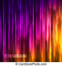 Vector abstract light background with shiny lines.