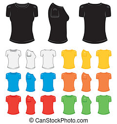 T-shirt female - Graphic female t-shirt in a variety of...
