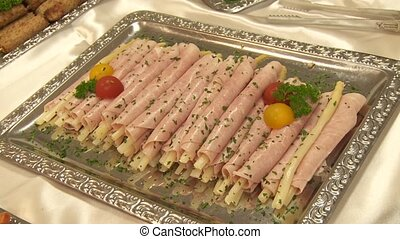 Asparagus and Ham - Catering, Buffet