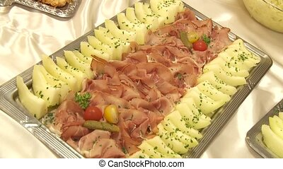 Melon And Ham - Catering, Buffet